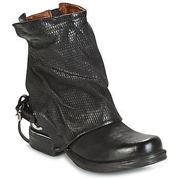 Zapatos Mujer Botas de caña baja Airstep / A.S.98 SAINT PI Negro