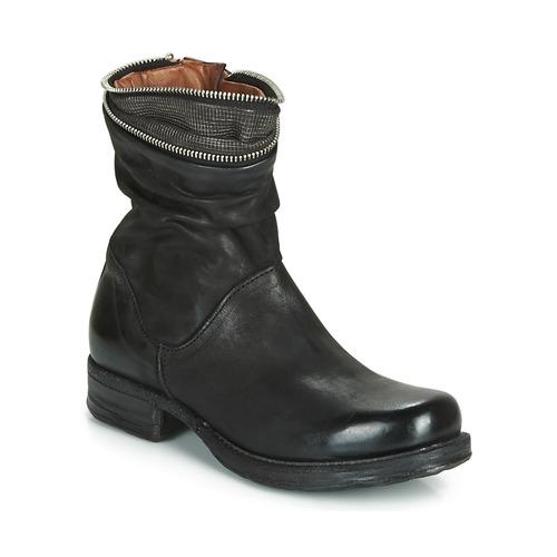 Airstep / A.S.98 SAINT LA Negro - Envío gratis | ! - Zapatos Botas de caña baja Mujer