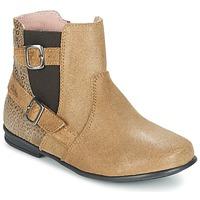 Zapatos Niña Botas de caña baja Aster DESIA Beige