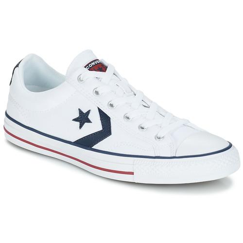 Zapatos Zapatillas bajas Converse STAR PLAYER  OX Blanco