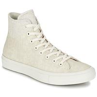Zapatos Zapatillas altas Converse CHUCK TAYLOR ALL STAR II  CAOUTCHOUC HI Beige
