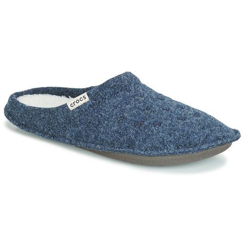 Crocs CLASSIC SLIPPER Marino - Envío gratis | ! - Zapatos Pantuflas