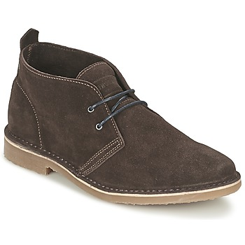 Zapatos Hombre Botas de caña baja Jack & Jones GOBI SUEDE DESERT BOOT Marrón