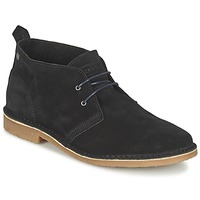Zapatos Hombre Botas de caña baja Jack & Jones GOBI SUEDE DESERT BOOT Gris