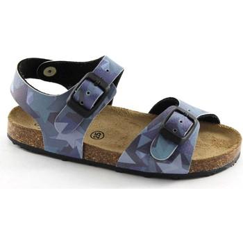 Zapatos Niño Sandalias Grunland GRU-SB0412-SB Blu