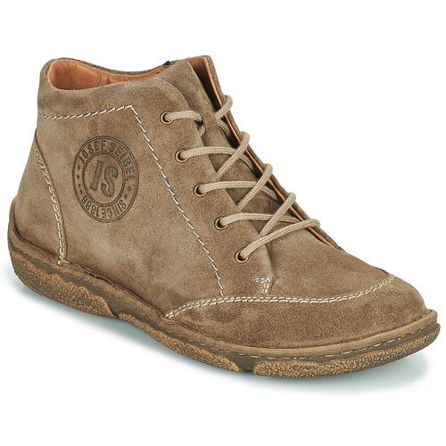 Zapatos Mujer Botas de caña baja Josef Seibel NEELE 01 Marrón