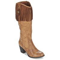 Zapatos Mujer Botas urbanas Refresh TRITOU Camel