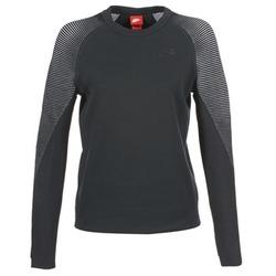 textil Mujer sudaderas Nike TECH FLEECE CREW Negro