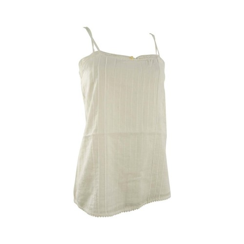 textil Mujer camisetas sin mangas Quiksilver White water cami beige