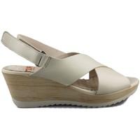 Zapatos Mujer Sandalias Mikaela NAPPA BEIGE