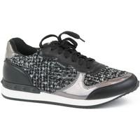 Zapatos Niña Zapatillas bajas Bass3d 41063 Negro