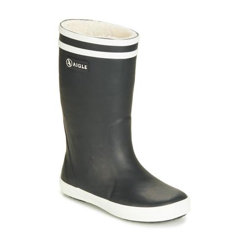 Aigle LOLLY POP FUR Marino - Envío gratis | ! - Zapatos Botas de agua Nino