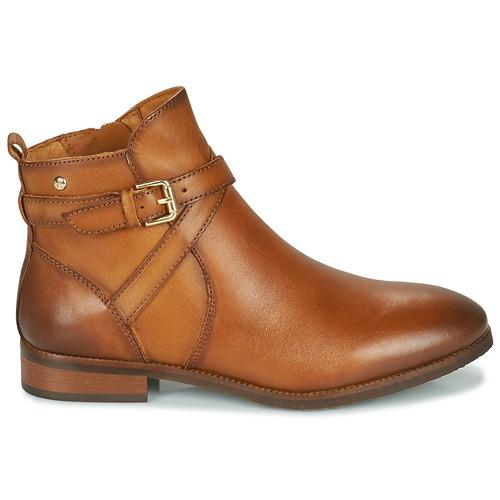 De Royal W4d Zapatos Botas Pikolinos Cognac Mujer Caña Baja Nnm0w8