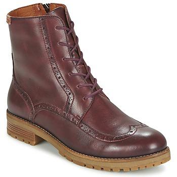 Zapatos Mujer Botas de caña baja Pikolinos SANTANDER W4J Marrón