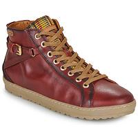 Zapatos Mujer Zapatillas altas Pikolinos LAGOS 901 Burdeo
