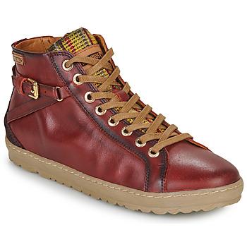 Zapatos Mujer Zapatillas altas Pikolinos LAGOS 901 Arcilla