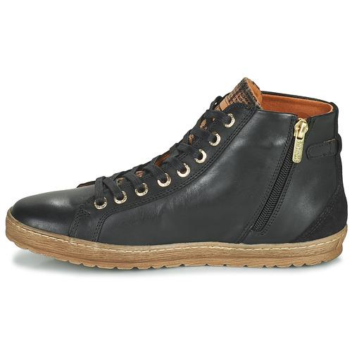 Altas Zapatillas Lagos Negro Pikolinos Zapatos Mujer 901 DH2YeE9IWb