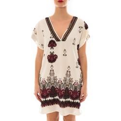textil Mujer Vestidos cortos Jad Robe Rina imprimée Blanc/Rouge Blanco
