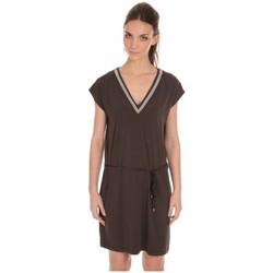 textil Mujer Vestidos cortos LPB Woman Les Petites Bombes Robe Col V ouvert Dos Carbone S165301 Gris
