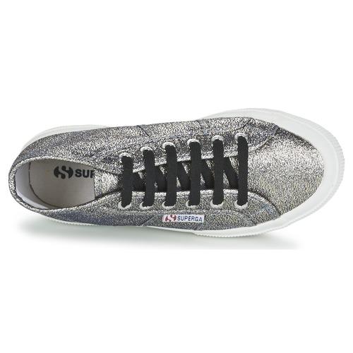 Los últimos zapatos de descuento para hombres y mujeres Zapatos especiales Superga 2754 LAMEW Plata