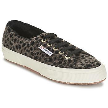 Zapatos Mujer Zapatillas bajas Superga 2750 LEOPARDHORSEW Leopardo