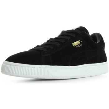 Zapatos Mujer Zapatillas bajas Puma Suede Classic + Negro