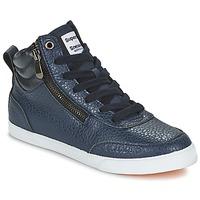 Zapatos Mujer Zapatillas altas Superdry NANO ZIP HI TOP SNEAKER Azul
