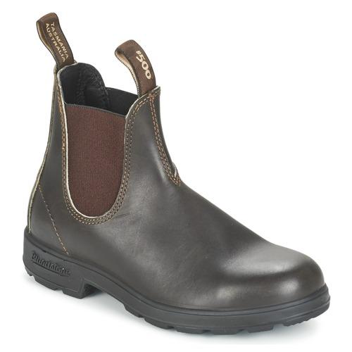 Zapatos especiales para hombres y mujeres Blundstone CLASSIC BOOT Marrón
