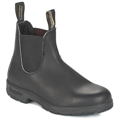 Zapatos especiales para hombres y mujeres Blundstone CLASSIC BOOT Negro / Marrón