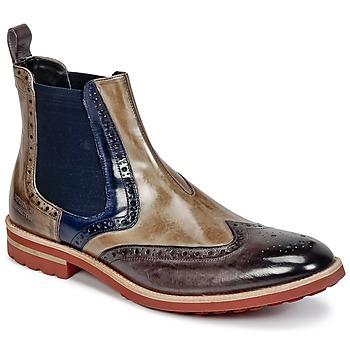 Zapatos Hombre Botas de caña baja Melvin & Hamilton EDDY 13 Marrón / Azul