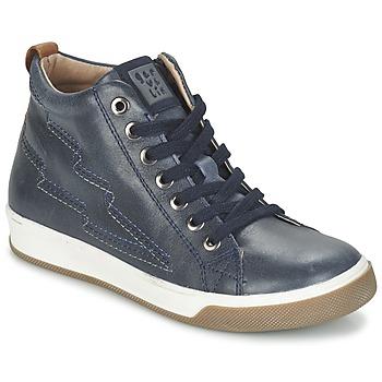Zapatos Niño Zapatillas altas Garvalin VALIRA Marino