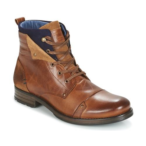 Zapatos Hombre Botas de caña baja Redskins YEDES Cognac