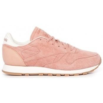 Zapatos Mujer Zapatillas bajas Reebok Sport W Classic Leather rosa
