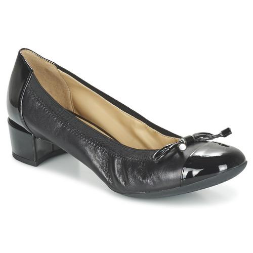 A Zapatos Geox Negro Carey De Mujer Tacón QsCrdthx