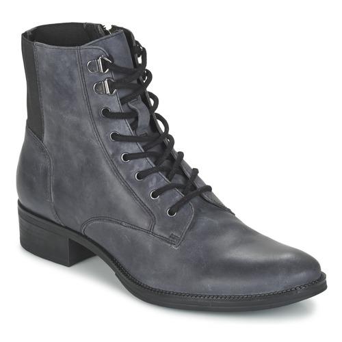Zapatos Mujer Botas de caña baja Geox MENDI ST B Gris