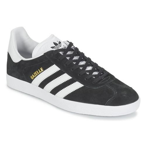 Zapatos promocionales adidas Originals GAZELLE Negro  Cómodo y bien parecido