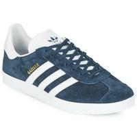 Zapatos Zapatillas bajas adidas Originals GAZELLE Marino