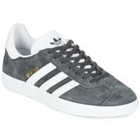 Zapatos Zapatillas bajas adidas Originals GAZELLE Gris