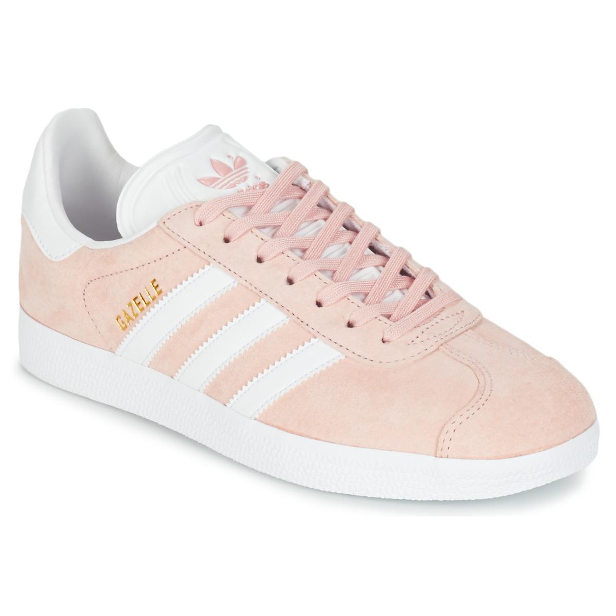 adidas gazelle rosa palo baratas