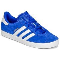 Zapatos Niño Zapatillas bajas adidas Originals GAZELLE 2 J Azul