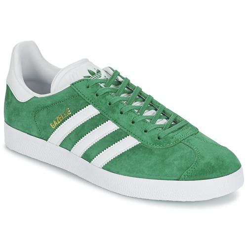 Zapatos especiales para hombres y mujeres adidas Originals GAZELLE Verde
