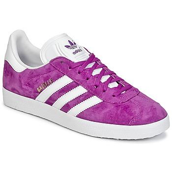 Zapatos Mujer Zapatillas bajas adidas Originals GAZELLE Violeta