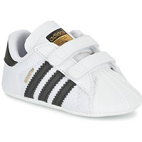 Zapatos Niño Zapatillas bajas adidas Originals SUPERSTAR CRIB Blanco