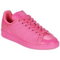 Zapatos Mujer Zapatillas bajas adidas Originals STAN SMITH Rosa