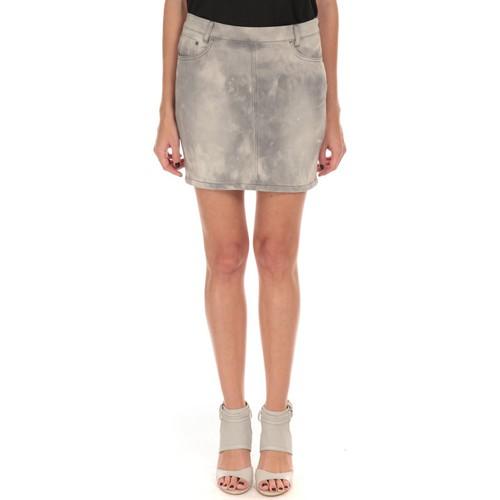 textil Mujer Faldas LPB Woman Les Petites Bombes Jupe Stretch Weekend S161803 Gris