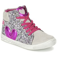 Zapatos Niña Zapatillas altas Agatha Ruiz de la Prada BUSOULI Plateado