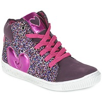Zapatos Niña Zapatillas altas Agatha Ruiz de la Prada BUSOULI Violeta