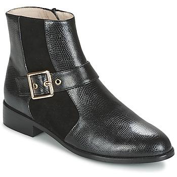 Zapatos Mujer Botas de caña baja Mellow Yellow ALDANA Negro