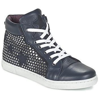 Zapatos Niña Zapatillas altas Mod'8 TOXIC Marino