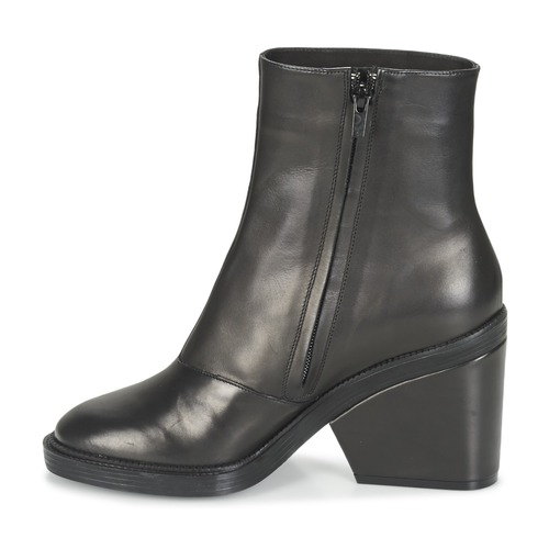 Babe Botines Clergerie Negro Mujer Robert Zapatos 80knOXPw